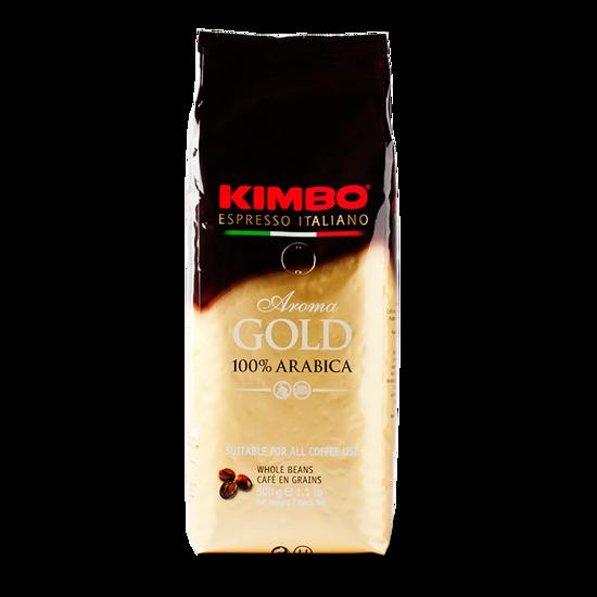 Immagine di Kimbo Aroma Gold – Chicchi di caffe' (500g)