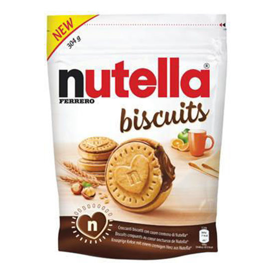 Picture of Nutella Cookies Biscuits (304G)